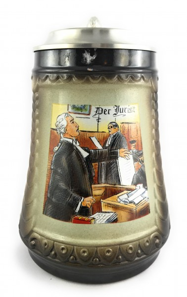 Lawyer beer stein 0,5 liter