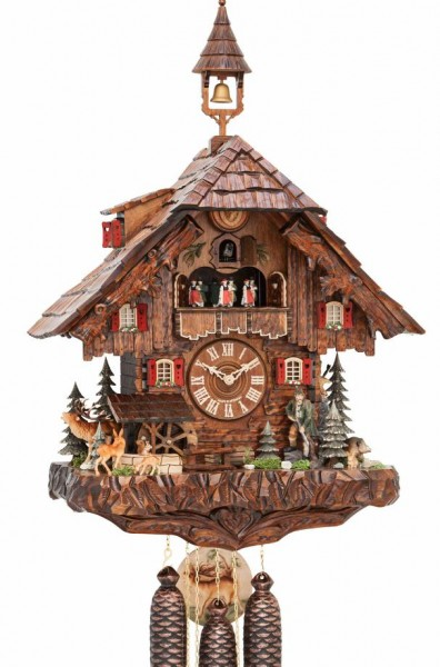 Black Forest House Hunter cuckoo clock 3740/8 EX