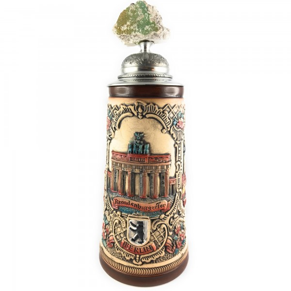 Berlin 6th Edition antik painted german beer stein