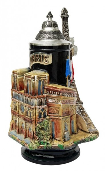 Paris 3D German Beer Stein France