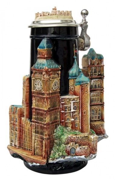 London 3D German Beer Stein England
