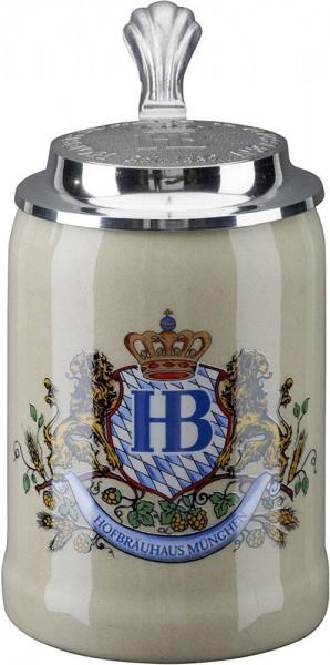 Hofbräuhaus Munich HB 0,5L with lid
