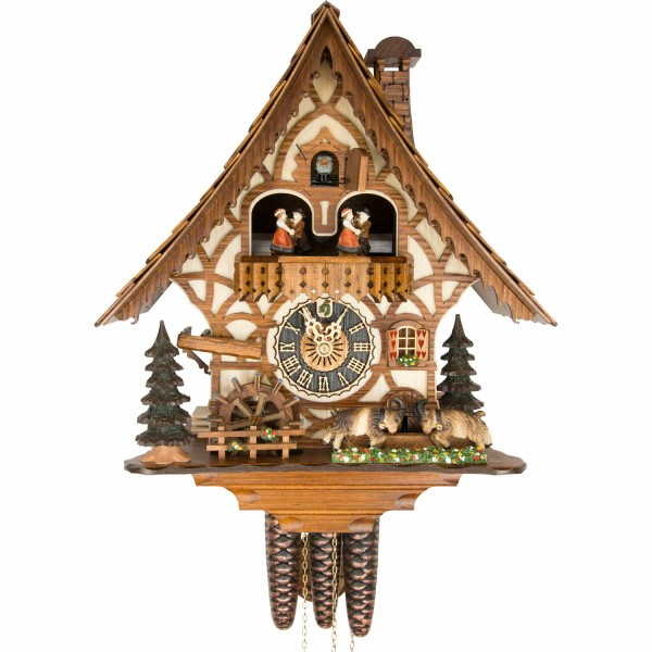 Gone Crazy Goats One Day Cuckoo Clock 6744T