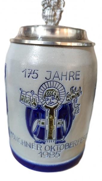 Oktoberfest 1985 salt glazed 0,5 liter beer stein