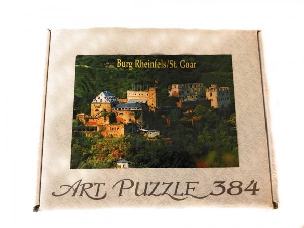 puzzle castle Rheinfels Sankt Goar
