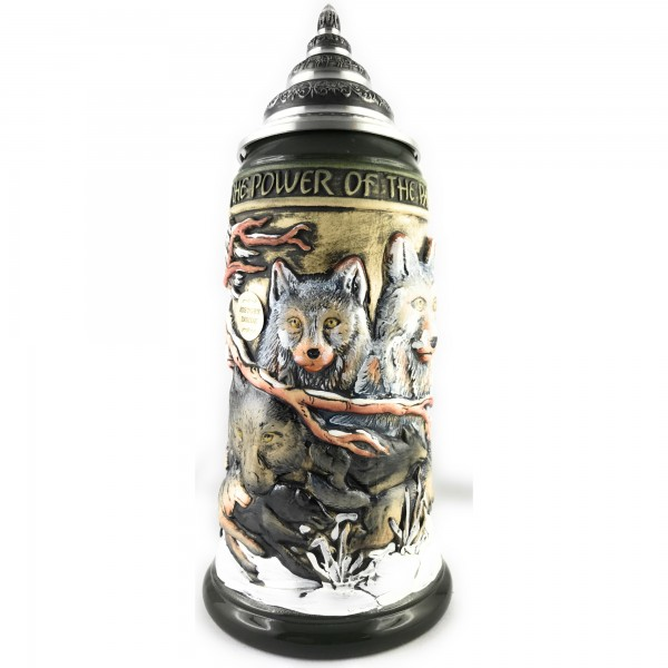 Wolf power of the Pack stein in antik