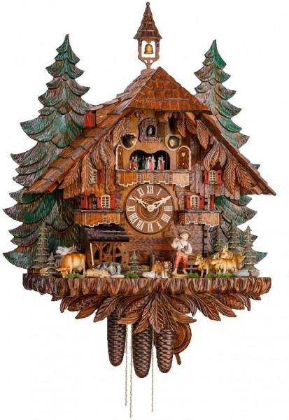The shepherd Cuckoo Clock alm scenery 3748/8 EX