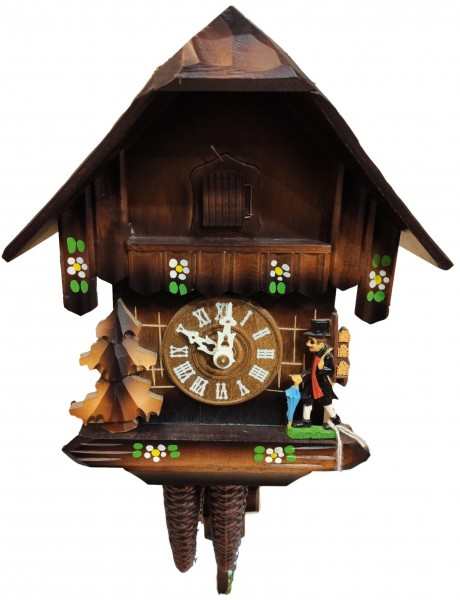 One Day Cuckoo Clock clockpendler