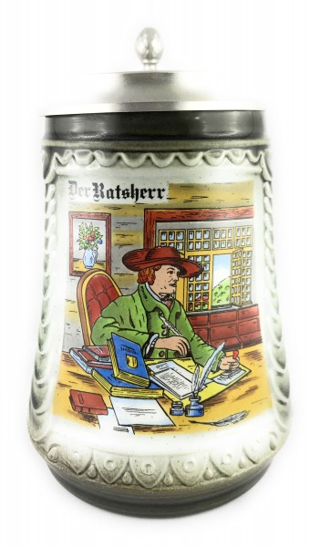 Government worker beer stein 0,5 liter