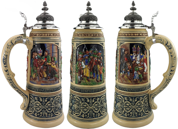 2020 KING year collector beer stein painted