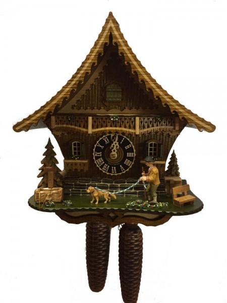 Doggy Walker Cuckoo Clock 8 Day Ltd - Bild 1
