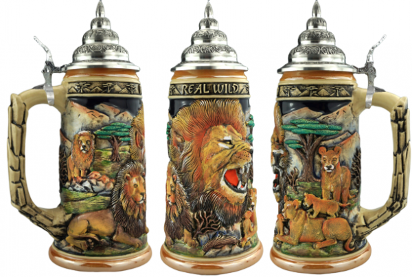 NEW release Lion beer beer stein 0,75 Liter