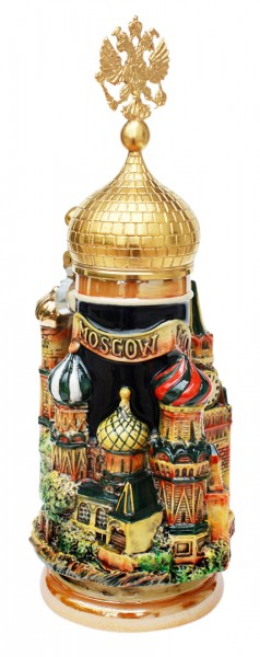 Moscow 3D beer stein