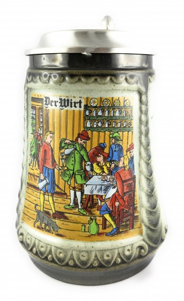 Restaurant owner beer stein 0,5 liter