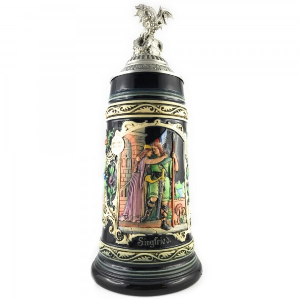 Siegfrieds return themed stein for real beer stein collectors