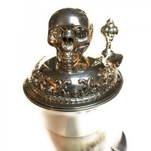 Skullhead Ox Horn handcrafted