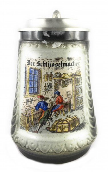 Key maker beer stein 0,5 liter