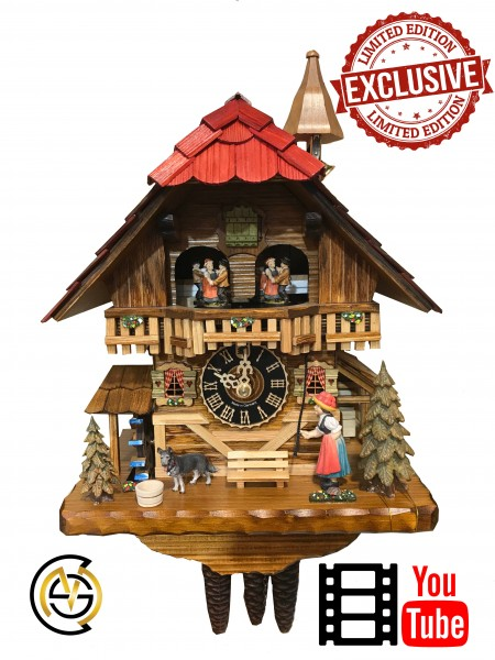 Black Forest Cuckoo Clock 1 Day Limited Edtion