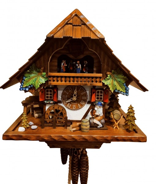 Time for wine 1 Day Cuckoo clock with Music Limited Edtion
