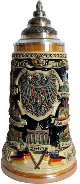 Viking Beer stein Anitk 0,75L - Bild 1