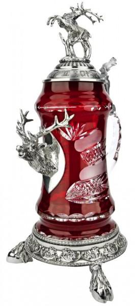 Lord of Crystal Eagle Beer Stein Black