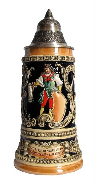 Fridolin Beer Stein Yellow 0,75liter