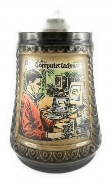 Computer Expert beer stein 0,5 liter