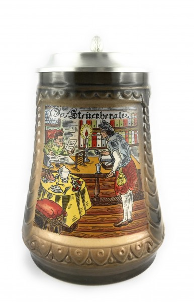 Accountant beer stein 0,5 liter