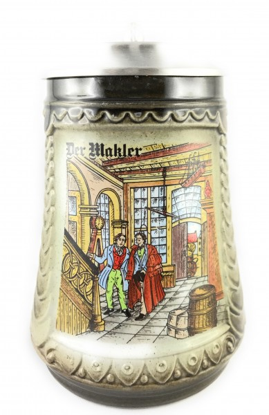Real estate agent beer stein 0,5 liter