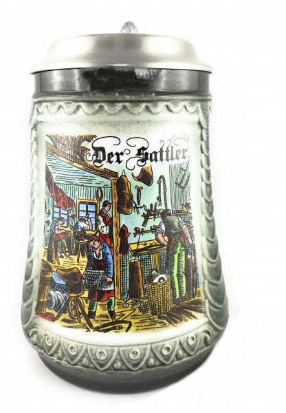Saddler beer stein 0,5 liter