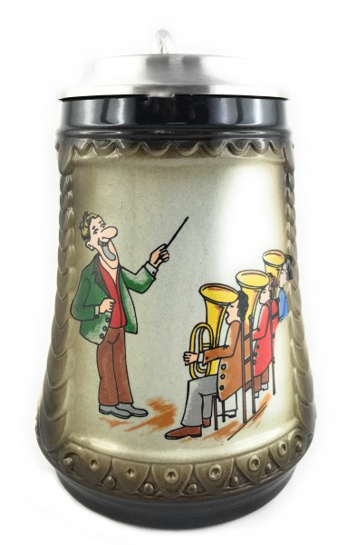 Musican beer stein 0,5 liter