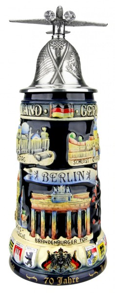 70 Years Berlin Airlift beer stein Made in Germany