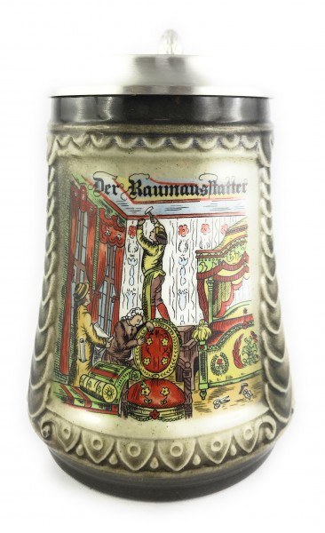 interior decorator beer stein 0,5 liter