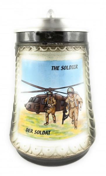 Soldier beer stein 0,5 liter