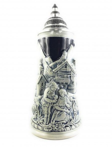 Alps scenery beer stein 0,75 liter