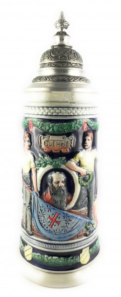 Gymnastik father Jahn beer stein
