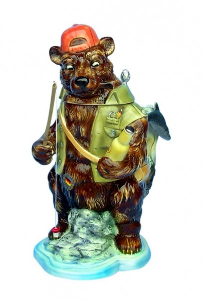 Grizzly / Brown Bear Fishing Beer stein