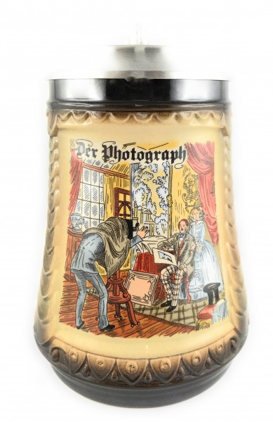 Photographer beer stein 0,5 liter