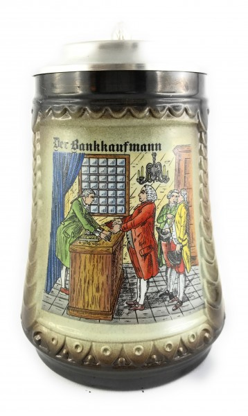 Banker beer stein 0,5 liter