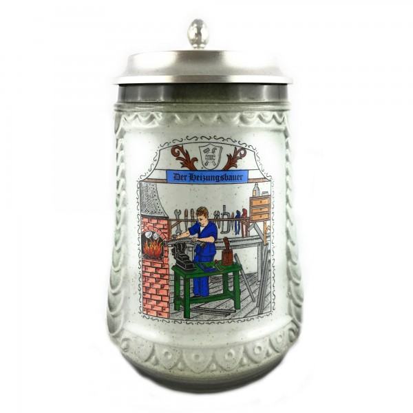 Heating mechanic beer stein 0,5 liter