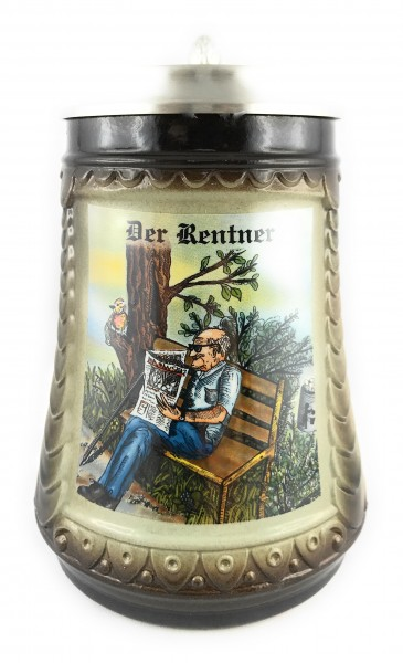 Retiree beer stein 0,5 liter