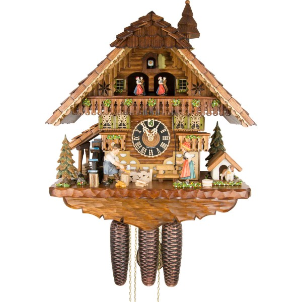 Dinner Time Eight Day Cuckoo Clock 8621T