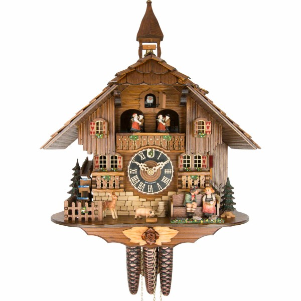 Kissing Black Forrest Cuckoo Clock