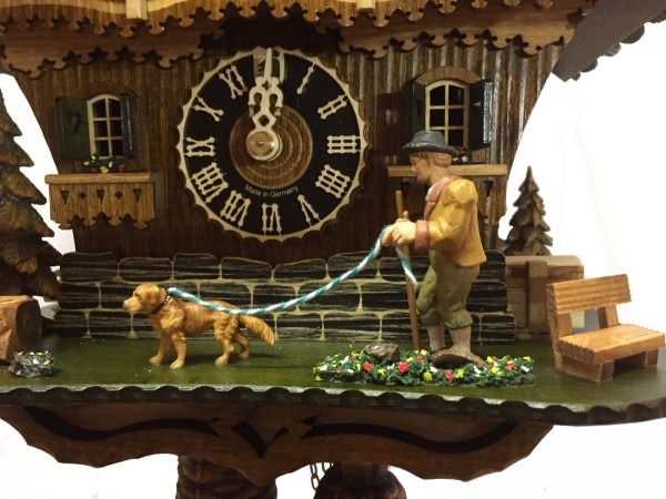 Doggy Walker Cuckoo Clock 8 Day Limited Edtion